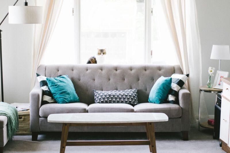 Ozdoby do salonu – ozdobne poduszki na kanapę