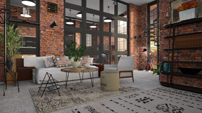 Dodatki w stylu loft – cechy charakterystyczne